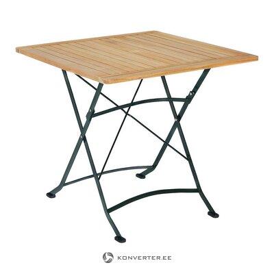 Sulankstomas sodo stalas (skiautelė) (visas, dėžutėje)