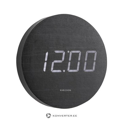 Led wall clock (karlsson) (whole, in box)