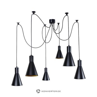 Black pendant light (tosel)
