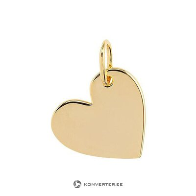 Pendant heart (bone)