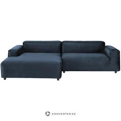 Dark blue modular sofa (rolf benz)