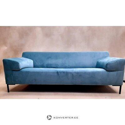 """Žaliai mėlyna sofa (""""Rolf Benz"""") (su defektu, salės pavyzdys)"""