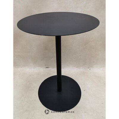 Round metal coffee table (with defects, hall sample)