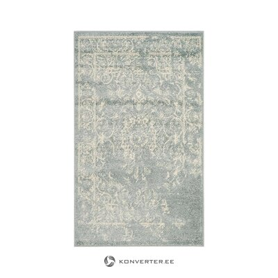 Greenish-gray carpet (safavieh) (in box, whole)