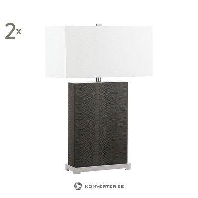 Table lamp set 2-part (safavieh) (whole, hall sample)
