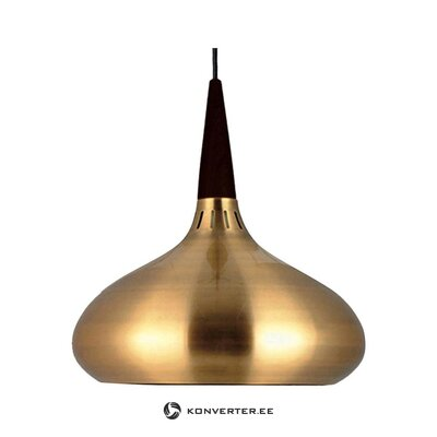 Golden-black pendant light (skapetze) (whole, in box)
