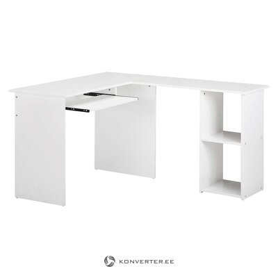 White corner table (throat) (whole, in a box)