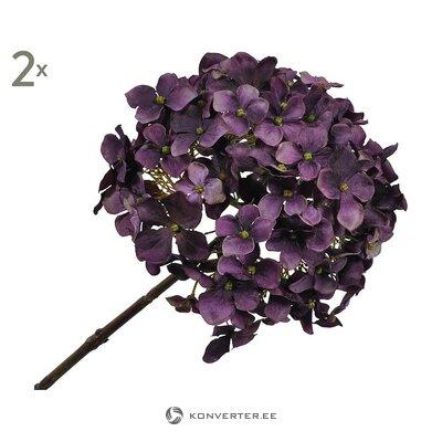 Dirbtinių gėlių rinkinys (2vnt) (šilkas-ka) (sveiki, dėžutėje)