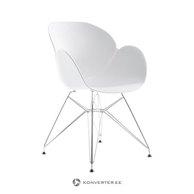 White design chair (tradestone)