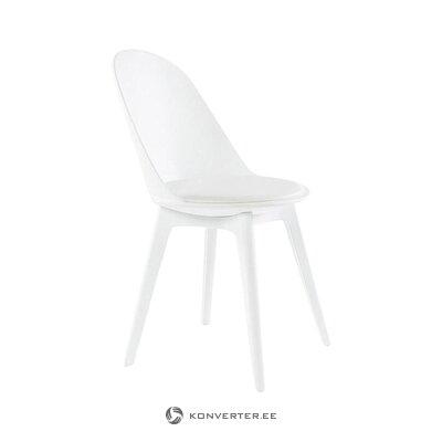 Valkoinen tuoli (tradestone) (salinäyte viallinen)