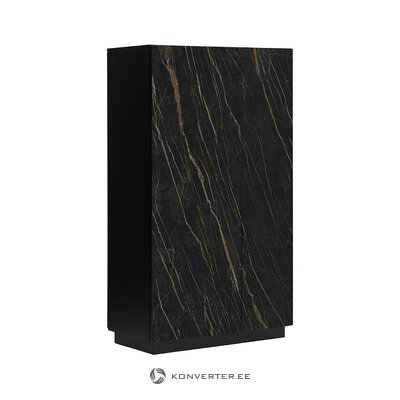 Dark cabinet with 2 doors (tradestone) (with beauty defects. Hall sample)