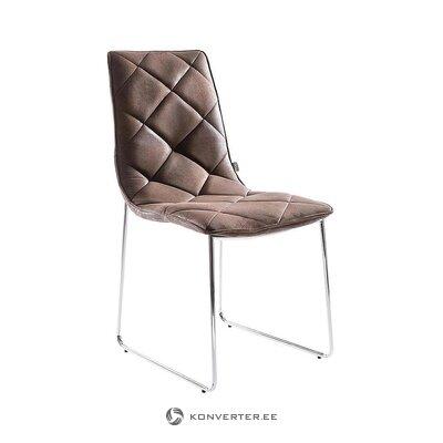 Ruskea tuoli (tradestone) (kokonainen, laatikossa)