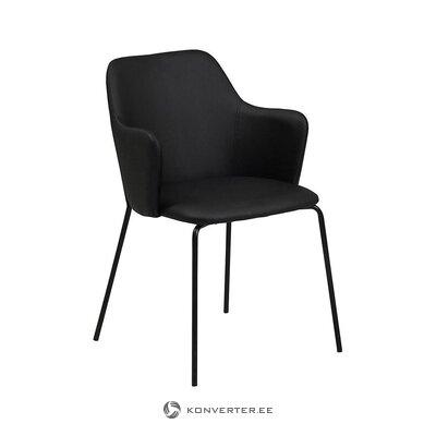 Musta tuoli (tradestone) (koko, salinäyte)