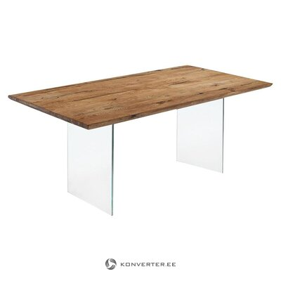 Solid wood dining table (tomasucci)