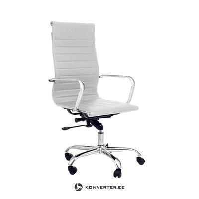 Белый карман офисного кресла (tomasucci) (с изъянами., Холл пробы)