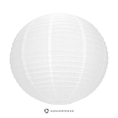 White Japanese lantern (tim & puce factory) (in box, whole)