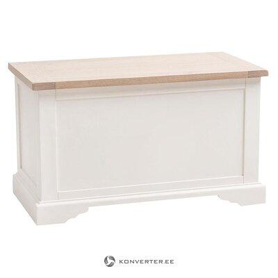 Valge-Pruun Hoiukast (Maine Furniture) (Terve, Saalinäidis)