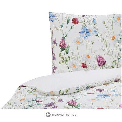 Ziedu gultas veļas komplekts (bez zīmola) (vesels, kastē)