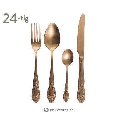 Bronze cutlery set 24-piece (galileo)
