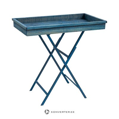 Blue serving table (novita) (with beauty defects., Hall sample)