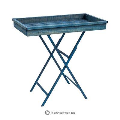 Zils servēšanas galds (novita) (vesels, kastē)