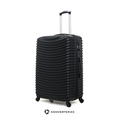 Black large suitcase etna (brand development) (whole, hall sample)