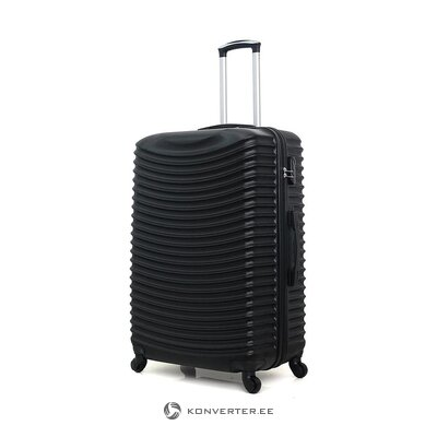 Black medium suitcase etna (brand development) (whole, in a box)