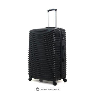 Musta pieni matkalaukku etna (brändin kehitys) (koko, laatikossa)