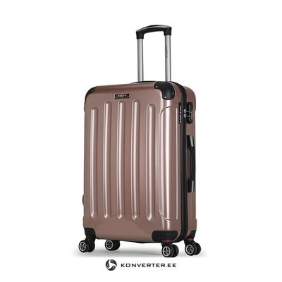 Large suitcase in tuna (bluestar) (sample)