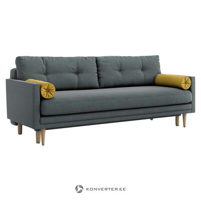 Dark gray sofa bed (optisofa)
