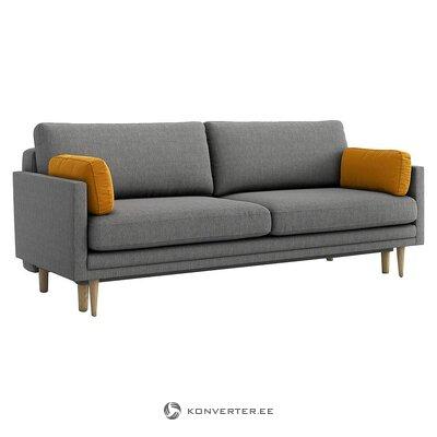 Dark gray sofa bed (optical sofa)