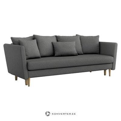 Gray sofa bed (optisofa)
