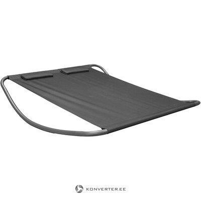 Melns šūpuļkrēsls (riska dizains) (vesels, kastē)