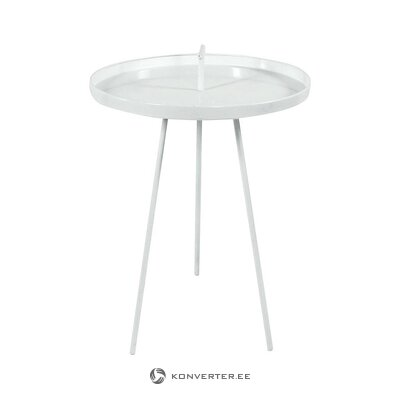 Small white coffee table (werner voss) (whole, in a box)