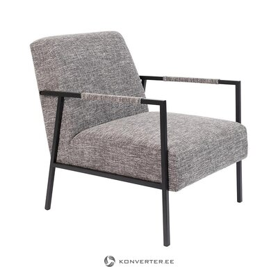 Gray-black armchair (zuiver)