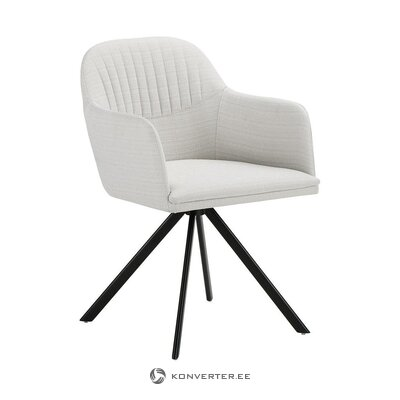 Gray-black swivel chair (lola) (whole, hall sample)