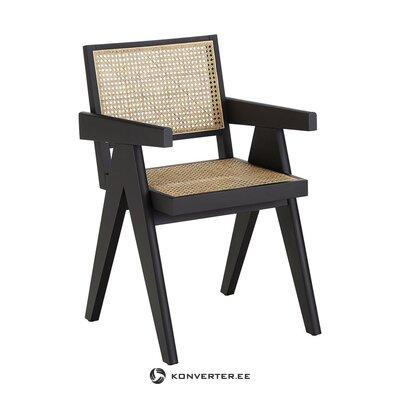 Mustanruskea tuoli (sissi) (terve näyte)