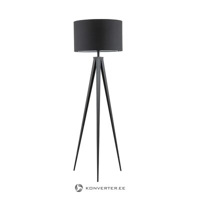 Black floor lamp (jella & jorg) (whole, in box)
