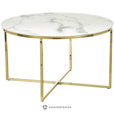 Marble imitation coffee table (antigua) (in a box)