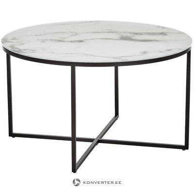 Kavos staliukas iš marmuro imitacijos (antigva)