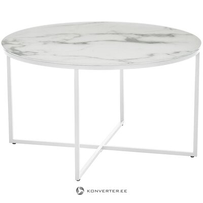 Marble imitation coffee table (antigua) (whole, in a box)