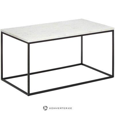 Marmorinen sohvapöytä (alys) (vahvoja puutteita salinäyte)
