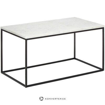 Marmurinis žurnalinis staliukas (alys) (salės pavyzdys nedidelis grožio defektas)