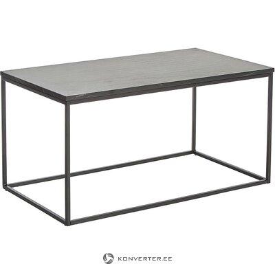 Musta marmorinen sohvapöytä (alys) (koko, laatikossa)