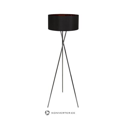 Black floor lamp (giovanna) (in box, whole)