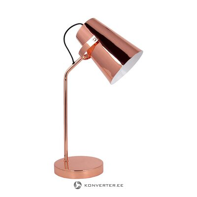 Copper table lamp (jill & jim) (whole, in box)