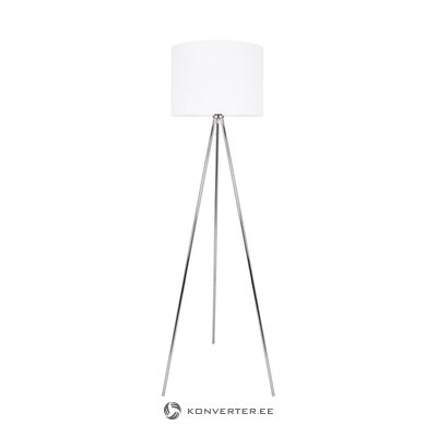 White-silver floor lamp (jill & jim) (whole, in box)