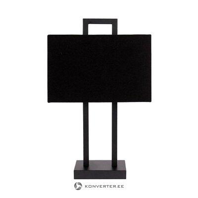 Black design table lamp (annelie) (hall sample)