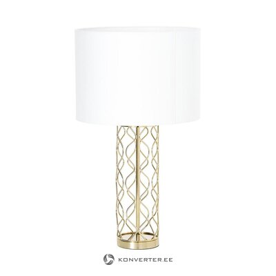 White-gold table lamp (anderson) (whole, in box)