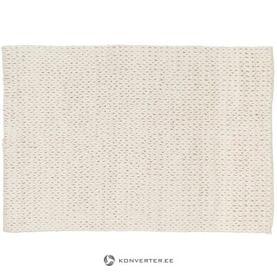 White wool carpet (jella & jorg) (in box, whole)